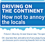 Car Hire | Driving on the Continent
