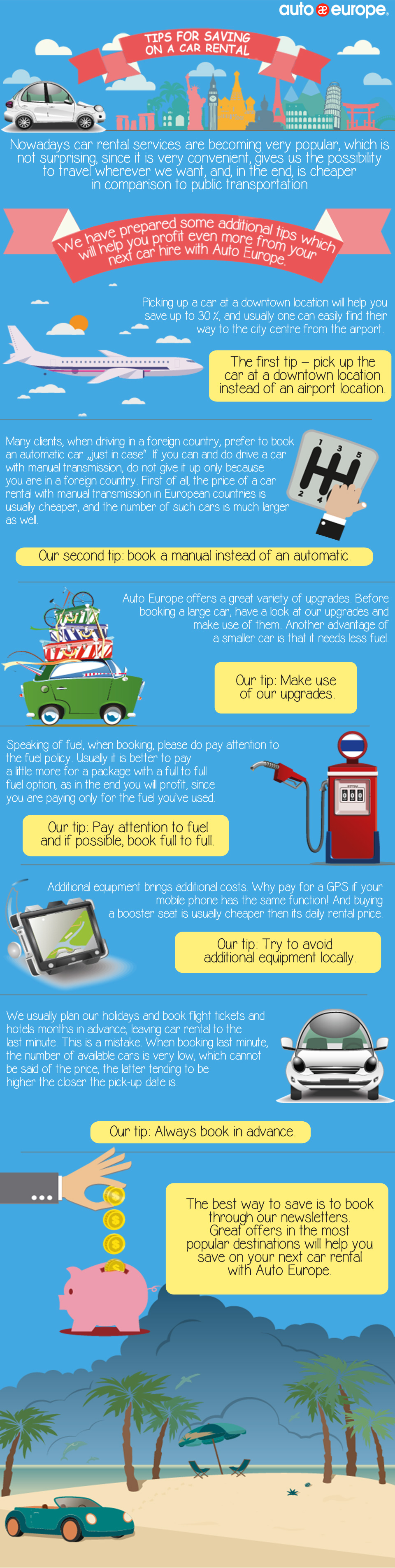 Tips for Saving on a Car Rental