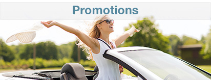 Promotions location de voiture