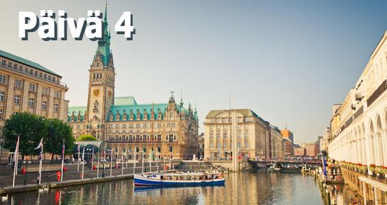 1000 km autobahn kiertomatka päivä 4 Hamburg