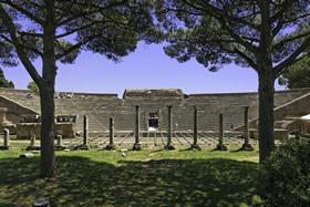Ostia Antica - Teatro romano