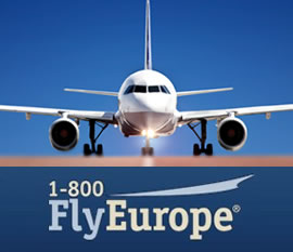 Cheap Flights to Europe with 1-800-FlyEurope