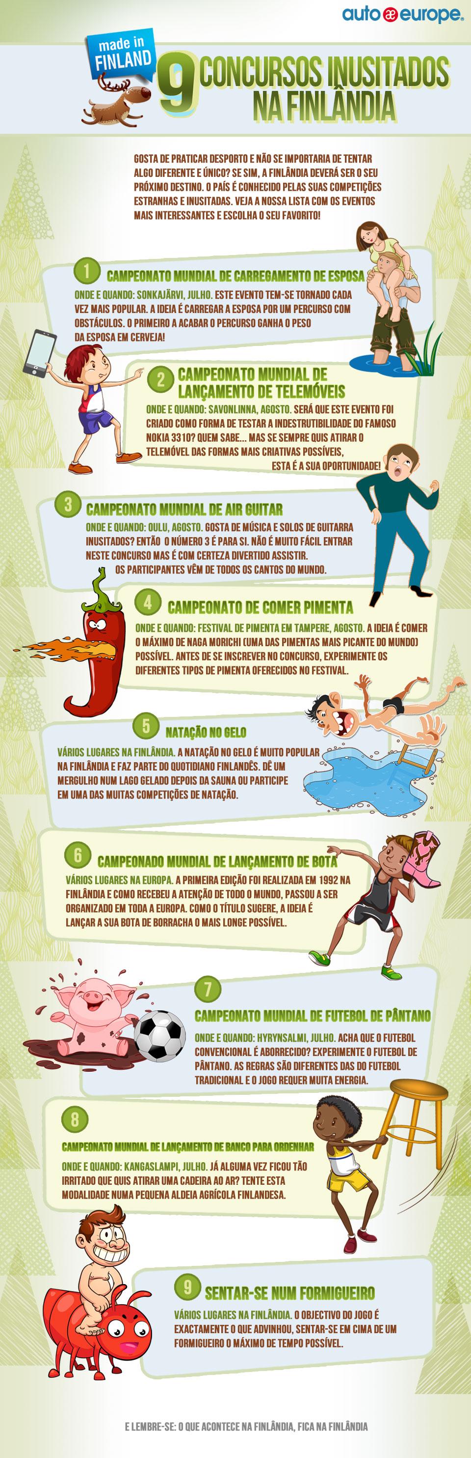 Nine Crazy Contests in Finland
