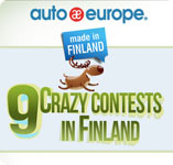 Infographic - 9 crazy contests in Finland