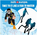 Diving on Holiday Infographic | Auto Europe Car Hire