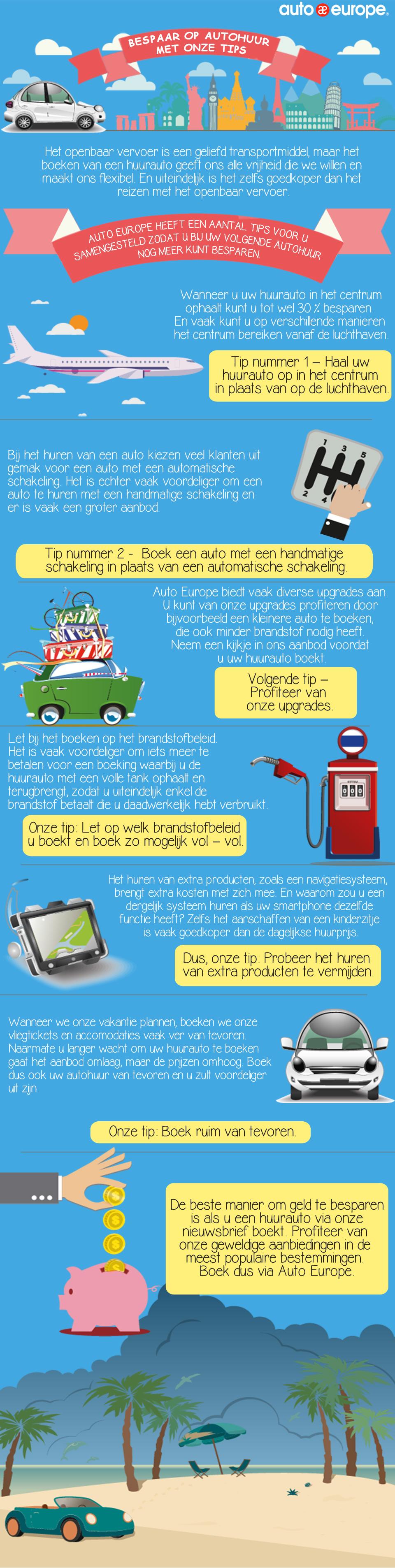 Bespaar meer op uw autohuur | Auto Europe