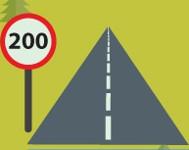 200-mile road