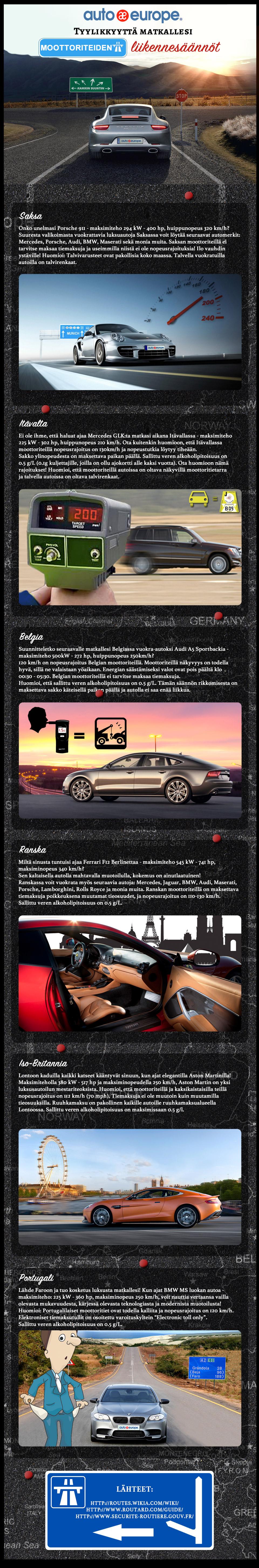 Infografiikka: Tyylikkyyttä matkallesi