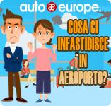 Cosa ci infastidisce in aeroporto | Sondaggio Auto Europe