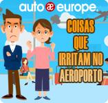 Coisas que Irritam nos Aeroportos | Auto Europe Aluguer de carros