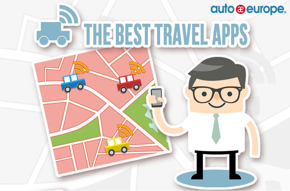 Infographic - The Best Travel Apps