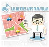 Infografía: Las mejores apps de viaje