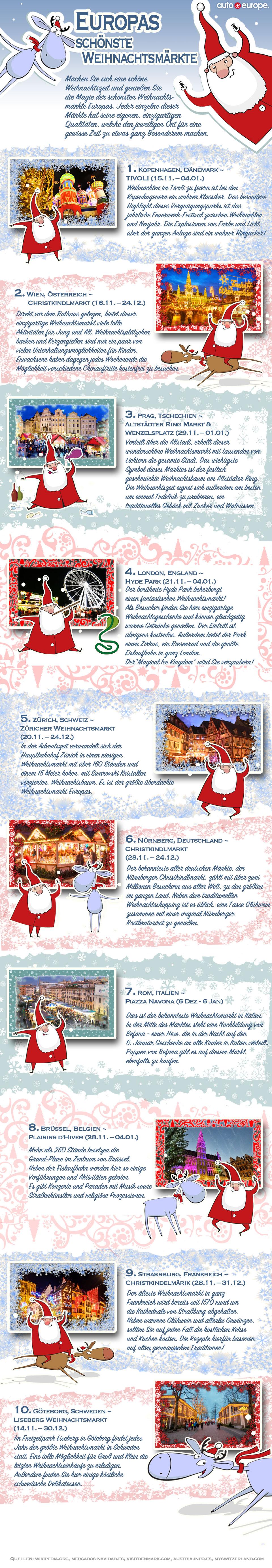 Weihnachtsmärkte in Europa