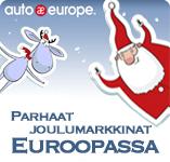 Parhaat joulumarkkinat Euroopassa