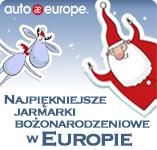 Jarmarki bożonarodzeniowe w Europie | Auto Europe