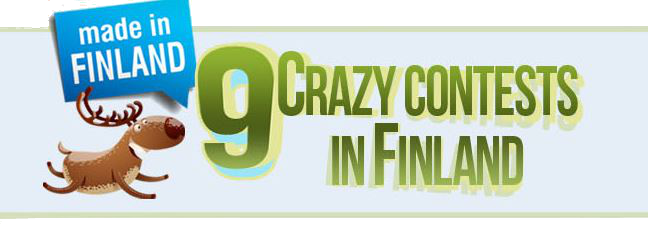 Infographic:9 crazy contests in Finland