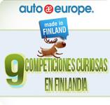 Infografía: 9 competiciones curiosas en Finlandia