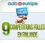 Compétitions folles en Finlande