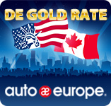 Auto Europe | Gold Rate Infographic