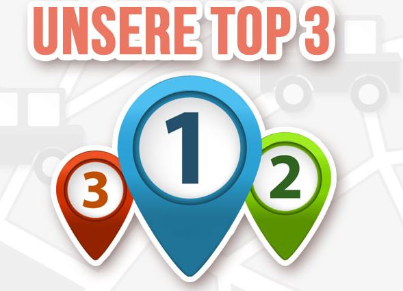 Unsere Top 3 Reise-Apps