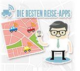 Infografik: Die besten Reise-Apps