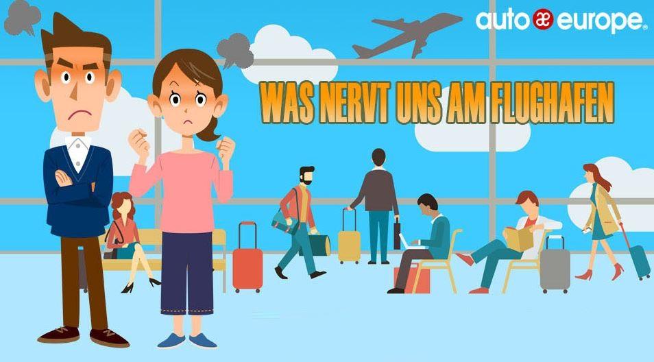 Was nervt uns am Flughafen