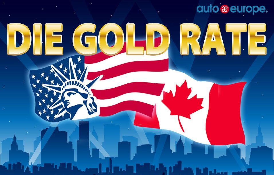 Infografik - Die Gold Rate