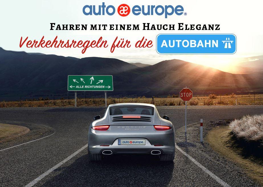Infografik - Luxus auf der Autobahn