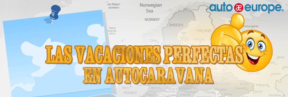 Infografía: Vacaciones perfectas en autocaravana