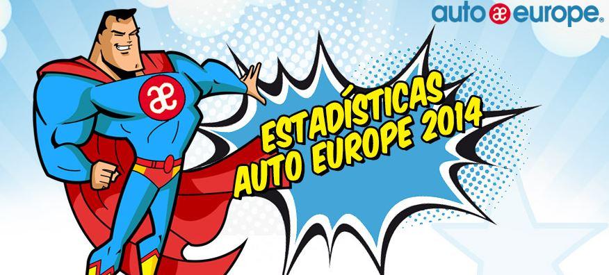 Cifras Auto Europe 2014