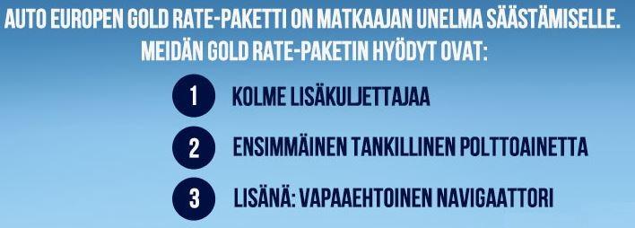 Gold Rate yhteenveto