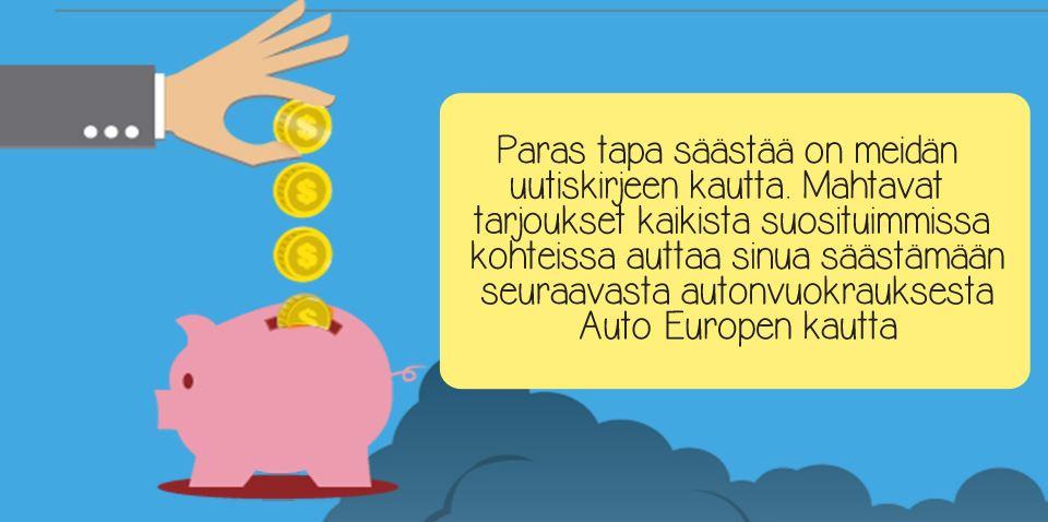 Säästä Auto Europella