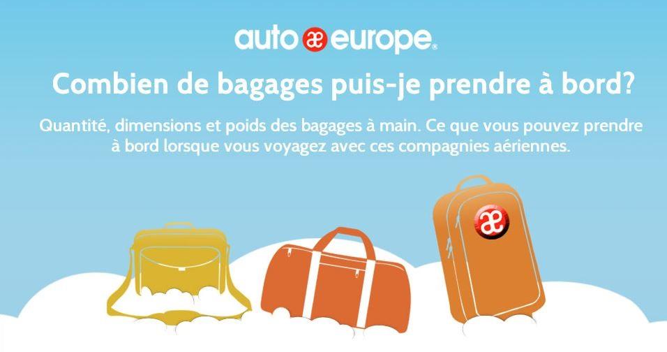 Règles sur les bagages à main