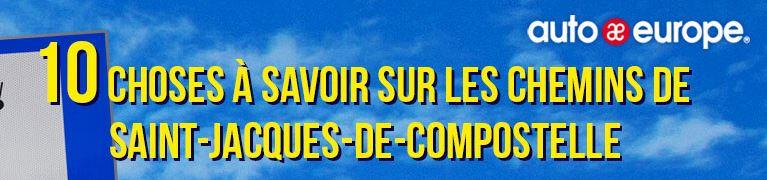 Infographie : Saint-Jacques de Compostelle