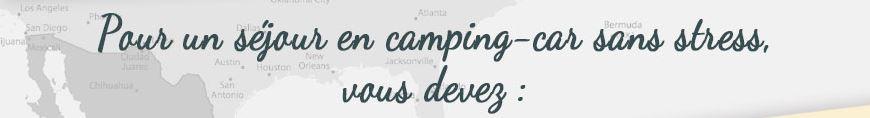 Vacances en camping-car