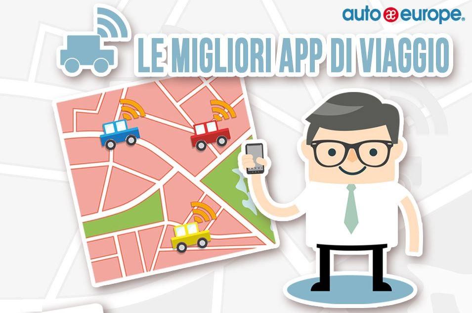 Infografica - Le migliori app di viaggio