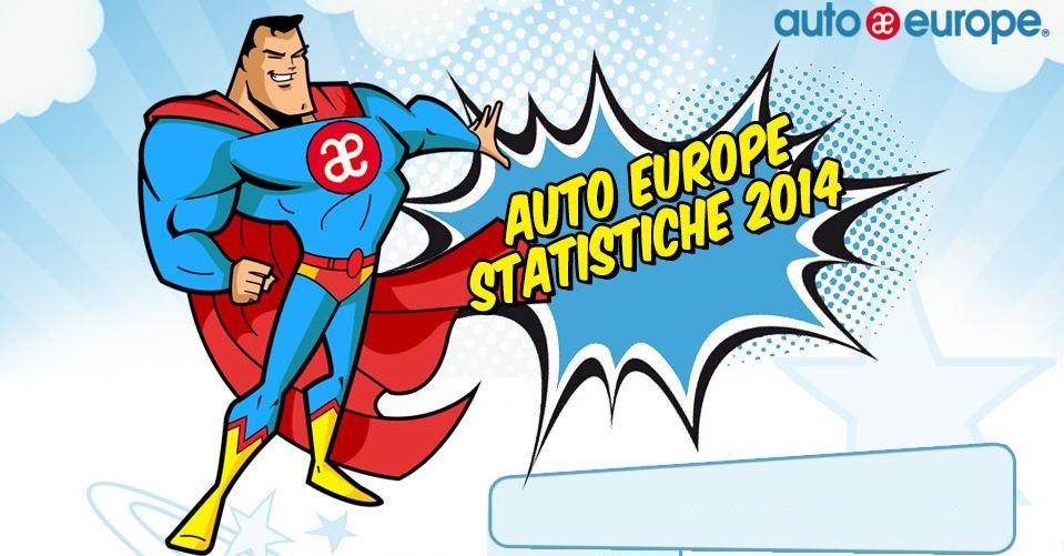 Auto Europe statistiche 2014