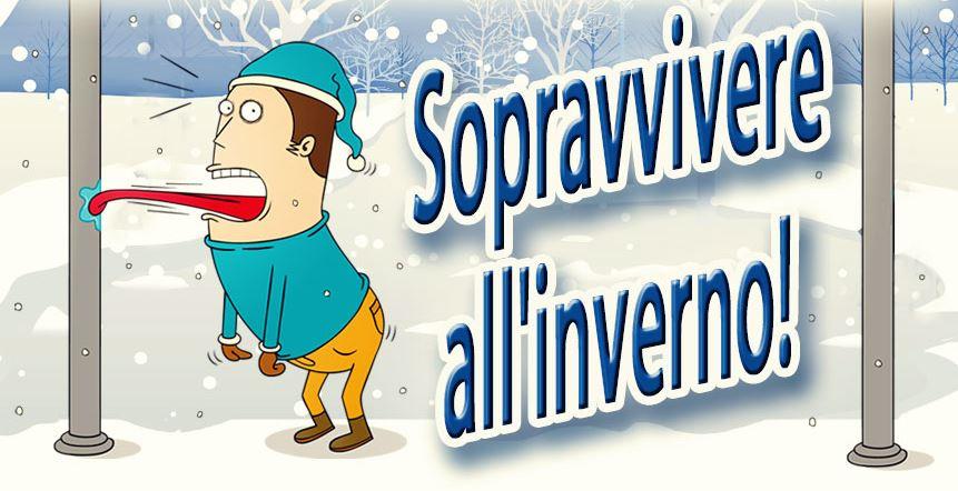 Infografica: Sopravvivere all'inverno!