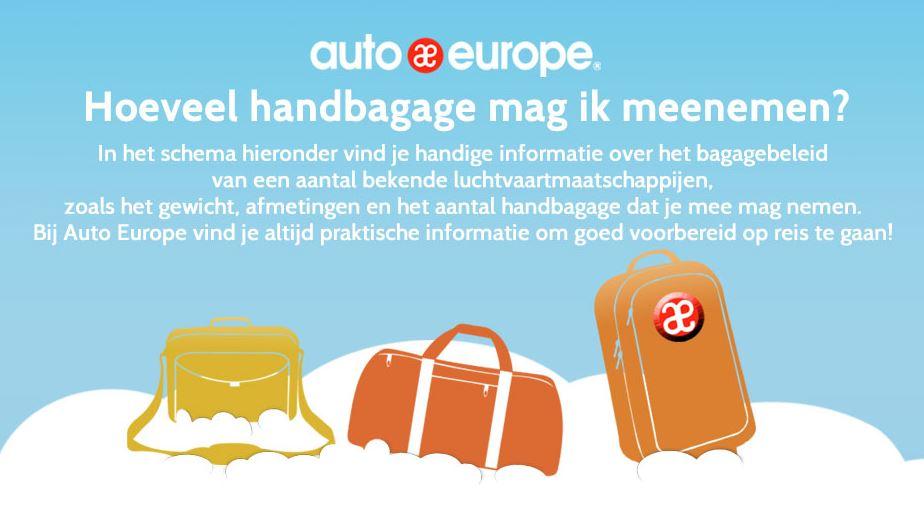 Toegestande handbagage