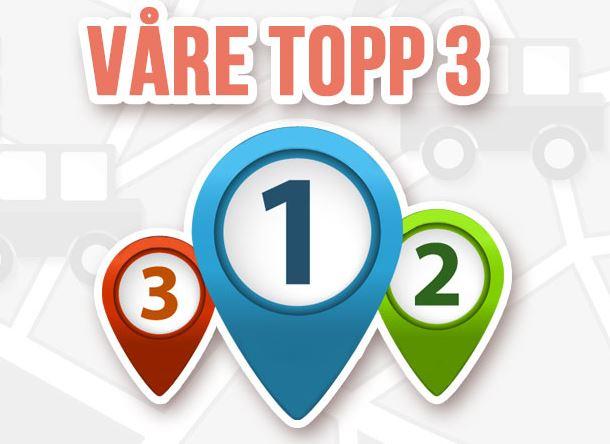 Våra Top 3