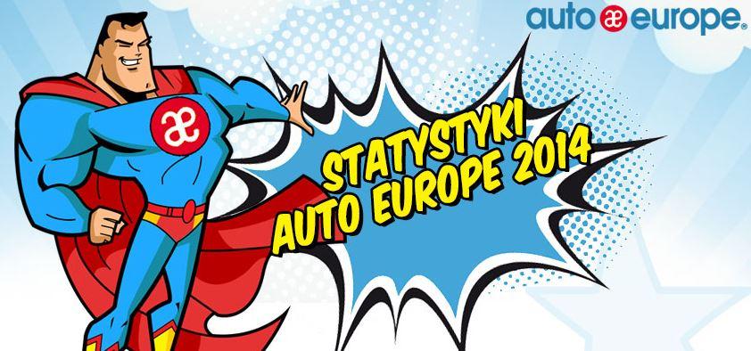 Auto Europe - statystyki z roku 2014