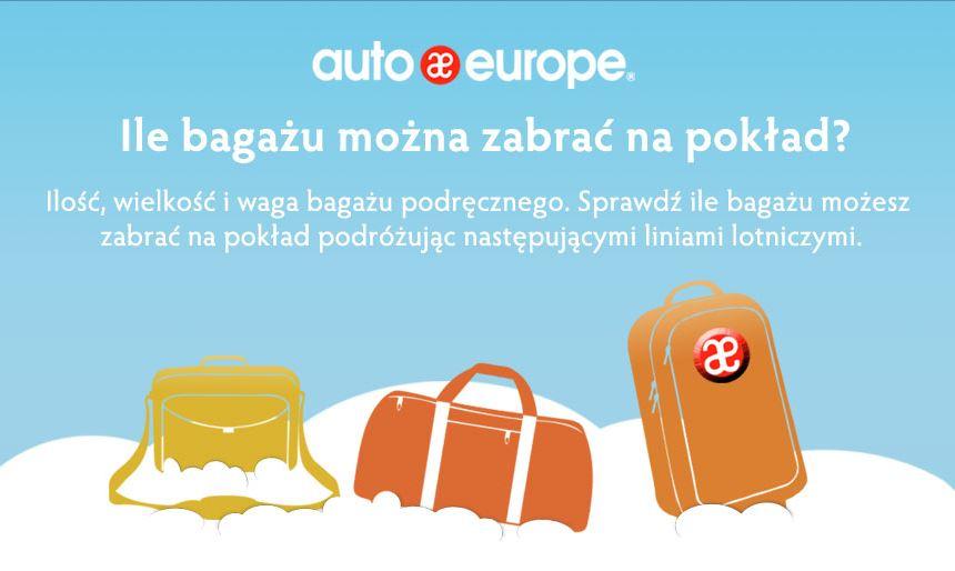 Ilość bagażu podręcznego