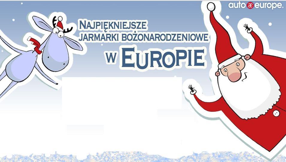 Infografka: jarmarki bożonarodzeniowe w Europie