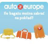 Infografika - limit bagażu w samolocie