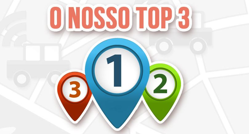 O nosso Top 3 de Apps de viagem