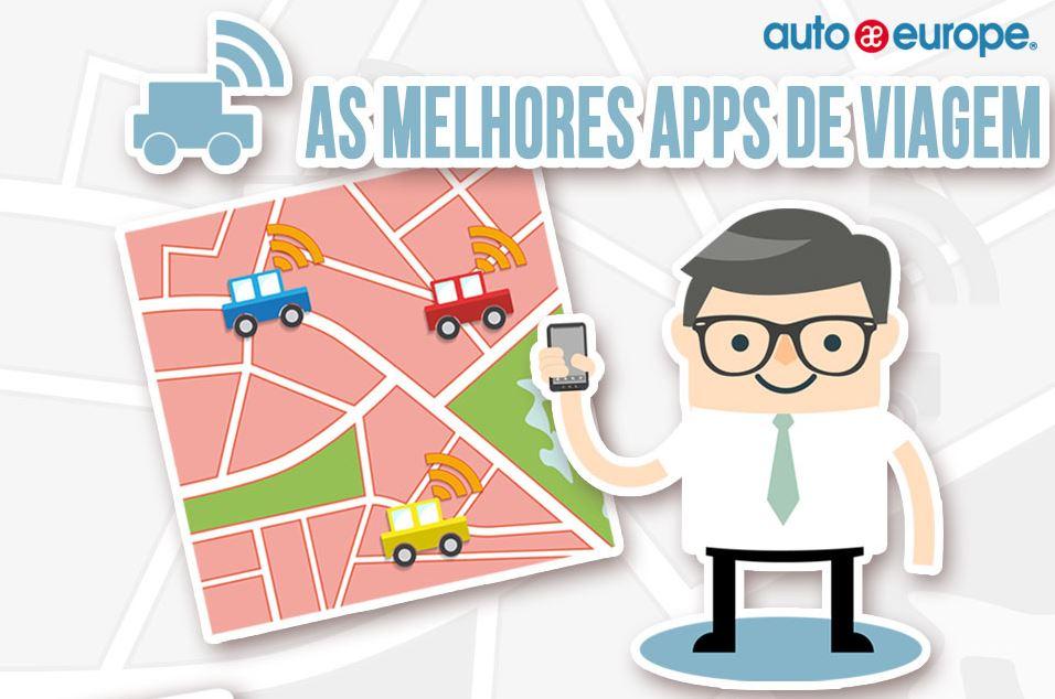 Infográfico: As melhores Apps de viagem