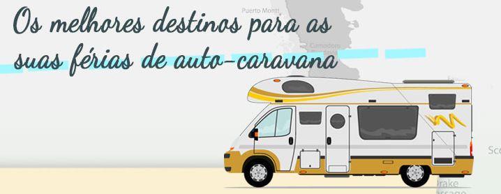 Os melhores destinos de férias de auto-caravana