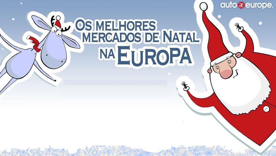 Infográfico: os melhores Mercados de Natal na Europa