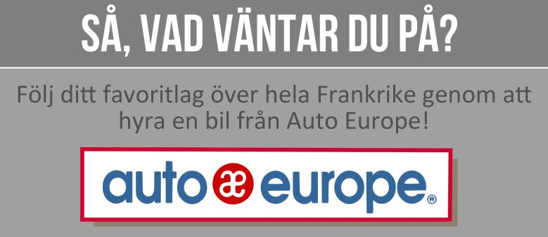 Euro 2016 med Auto Europe