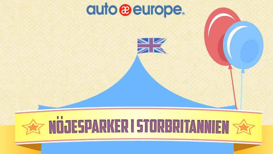 Infografik - nöjesparker i Storbritannien